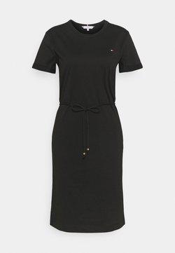 Tommy Hilfiger - COOL SHORT DRESS - Sukienka z dżerseju - black