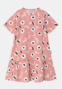 Marimekko - IHAILLA MINI UNIKOT - Jerseykleid - beige/rose/black