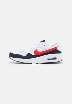 Nike Sportswear - AIR MAX SC UNISEX - Baskets basses - white/university red/obsidian