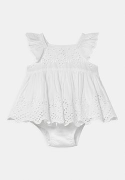 GAP - EYELET SET - Juhlamekko - optic white