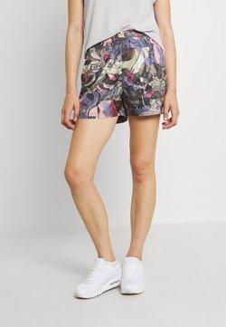 Nike Sportswear - FEMME - Shorts - ironstone/black/metallic gold