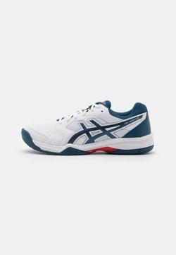 ASICS - GEL DEDICATE 6 - Scarpe da tennis per tutte le superfici - white/mako blue