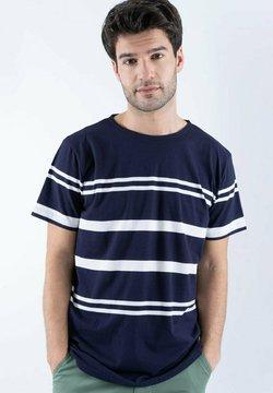 Armor lux - T-Shirt print - navire/blanc