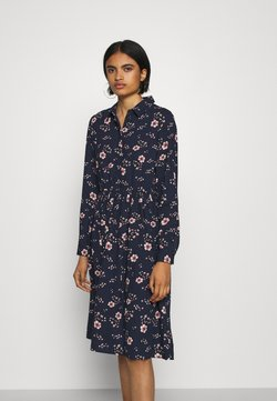 Vero Moda - VMGALLIE DRESS - Blusenkleid - navy blazer/gallie