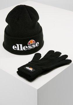 Ellesse - VELLY & BUBB SET - Czapka - black