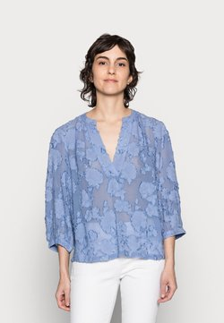 Part Two - HEIDRUN - Bluse - colony blue