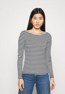 Zign - Langarmshirt - black/white