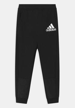 adidas Performance - UNISEX - Spodnie treningowe - black/white