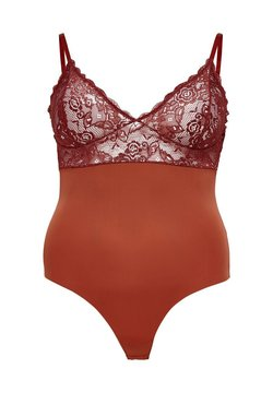 ONLY Carmakoma - Body - red ochre