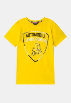 Automobili Lamborghini Kidswear - SHIELD - T-shirt print - yellow tenerife