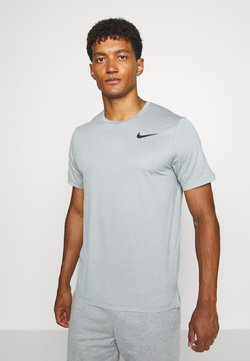 Nike Performance - DRY - Camiseta básica - smoke grey/light smoke grey/heather/black