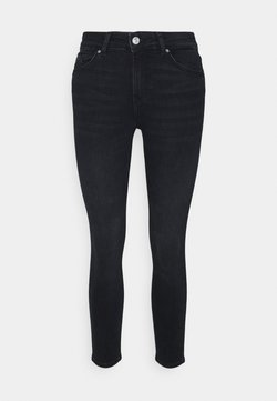 Pieces Petite - PCDELLY - Jeans fuselé - dark blue denim