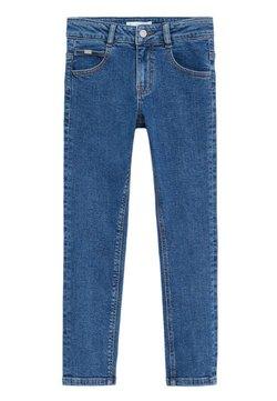 Mango - REGULAR - Straight leg jeans - middenblauw