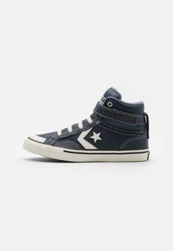 Converse - PRO BLAZE STRAP COLLAR UNISEX - Sneakers alte - obsidian/lakeside blue/egret