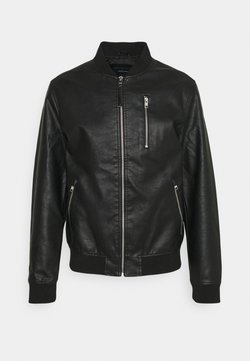 Jack & Jones - JJFLAKE  - Giubbotto Bomber - black