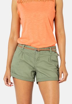 Sublevel - Shorts - middle-green