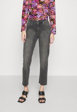 Ivy Copenhagen - LAVINA SHANGHAI - Relaxed fit jeans - black