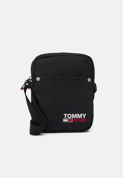 Tommy Jeans - CAMPUS REPORTER UNISEX - Sac bandoulière - black