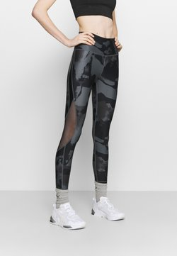 Under Armour - ROCK ANKLE LEGGING - Trikoot - pitch gray