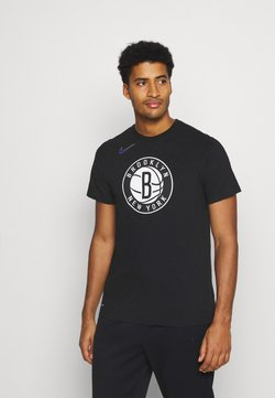 Nike Performance - NBA BROOKLYN NETS CITY EDITION DRY TEE - Equipación de clubes - black