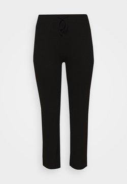 Pieces Curve - WIDE PANT LOUNGE CURVE - Jogginghose - black