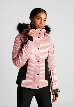 Superdry - LUXE SNOW PUFFER - Ski jas - ice pink metallic