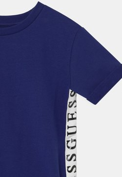 Guess - TODDLER FRENCH TERRY - Korte jurk - passion blue