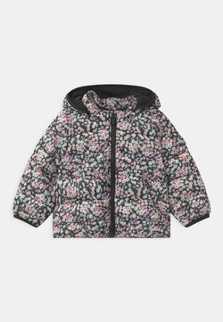 GAP - PUFFER HOOD - Chaqueta de invierno - moonless night