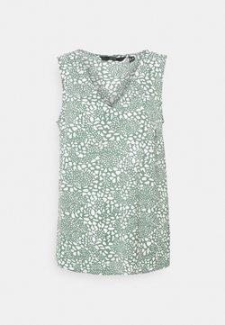 Vero Moda Tall - VMSAGA V NECK - Bluse - laurel wreath/danna
