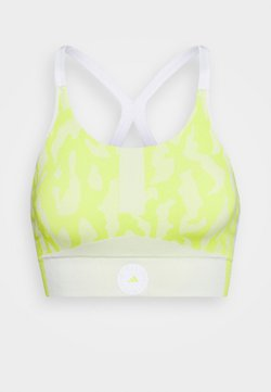 adidas by Stella McCartney - BRA - Sport BH - yellow/white