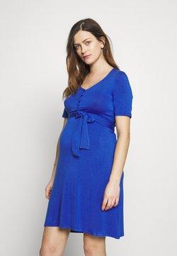 MAMALICIOUS - MLADRIANNA DRESS - Trikoomekko - dazzling blue