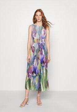 Swing - BLUMENDRUCK - Cocktail dress / Party dress - blue/multi