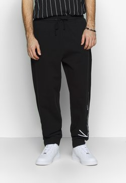 Karl Kani - SIGNATURE RETRO - Jogginghose - black/white