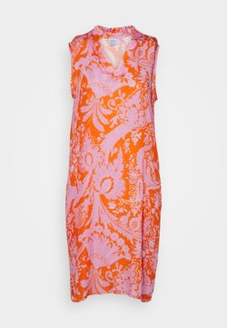 Emily van den Bergh - Day dress - orange/pink
