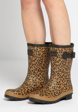 Tom Joule - WELLY BOOTS TAN LEOPARD - Boots - brown