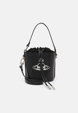 Vivienne Westwood - BETTY SMALL BUCKET - Käsilaukku - black