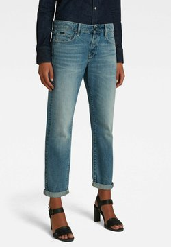 G-Star - KATE BOYFRIEND - Jeans Straight Leg - faded tide