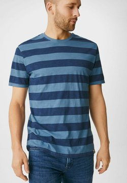 C&A - T-Shirt print - light blue / blue