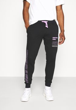 Redefined Rebel - LOGAN PANTS - Jogginghose - black