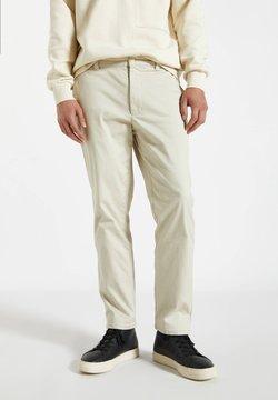 PULL&BEAR - Chinosy - mottled beige