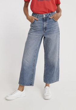 Superdry - WIDE LEG - Relaxed fit jeans - duet blue