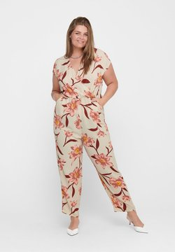 ONLY Carmakoma - CURVY - Overall / Jumpsuit - oatmeal