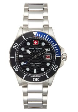 Swiss Military Hanowa - OFFSHORE DIVER - Montre - black/silver-coloured
