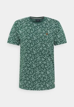 Jack & Jones PREMIUM - JPRBLUTOM TEE CREW NECK - T-Shirt print - bistro green