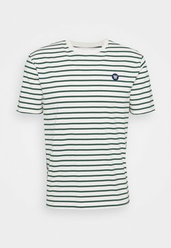 Wood Wood - ACE - T-Shirt print - offwhite/faded green
