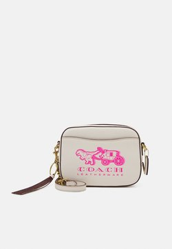 Coach - REXY AND CARRIAGE CAMERA BAG - Sac bandoulière - chalk