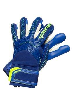 Reusch - Sormikkaat - deep blue / safety yellow