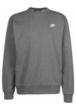 Nike Sportswear - Sweatshirt - charcoal heather/white