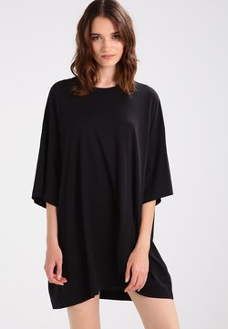 Weekday - HUGE - T-Shirt basic - black