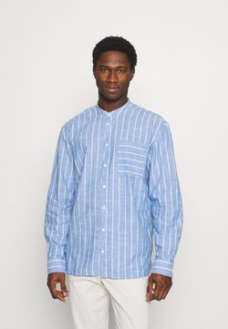 Casual Friday - ALVIN STRIPED - Hemd - chambray blue